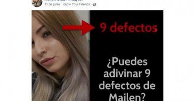 Mira los 9 Defectos más importantes de Mailen Diaz
